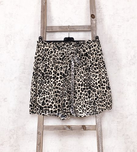 Leoparden Shorts