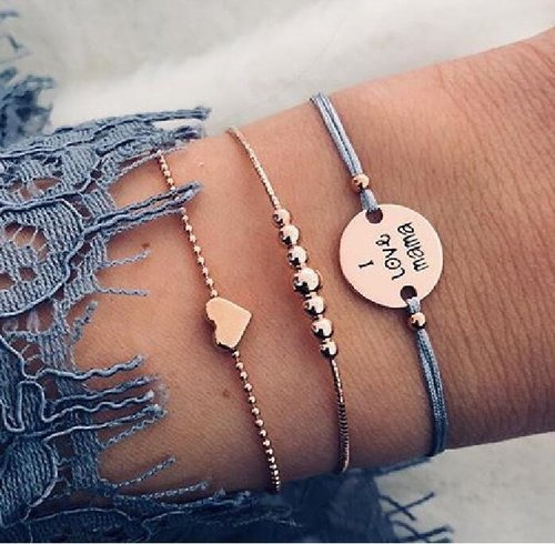 3teiliges Love Armband