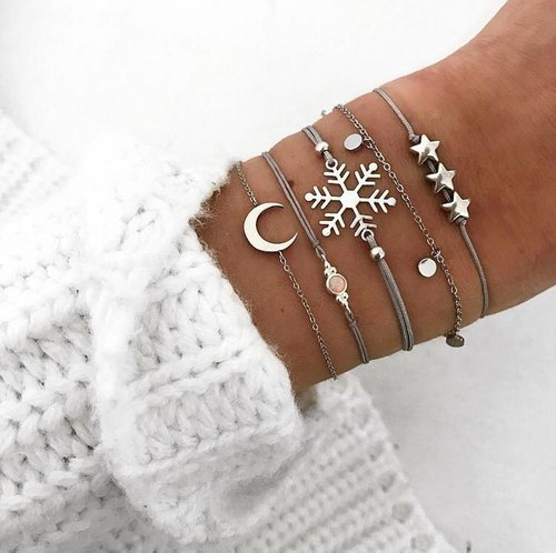 5teiliges Wonderland Armband