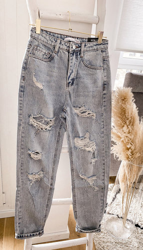 Mega destroyed Momfit Jeans