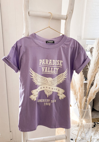 Valley T-Shirt- Lila