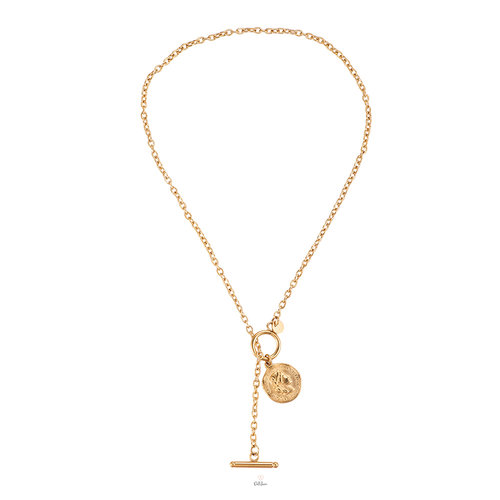 Y Shape Chain Kette- vergoldet